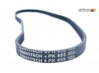 A/C Serpentine Belt (4PK855), ContiTech