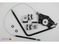 Driver Front Window Regulator Repair Kit, OEM