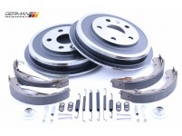 Rear Drum & Shoe Kit, Fremax, Topran & OEM