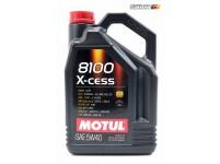 8100 X-Cess 5W40 Engine Oil (5L), Motul