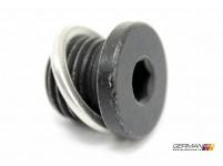 Oil Pan Drain Plug w. Seal, OEM