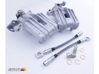 Aluminum Rear Caliper Upgrade Kit (Stainless)