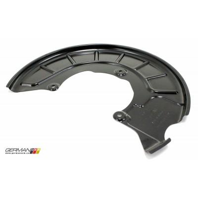 Passenger Front Brake Dust Shield, OEM