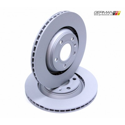 Rear Brake Disc (300x22mm), Zimmermann (Pair)