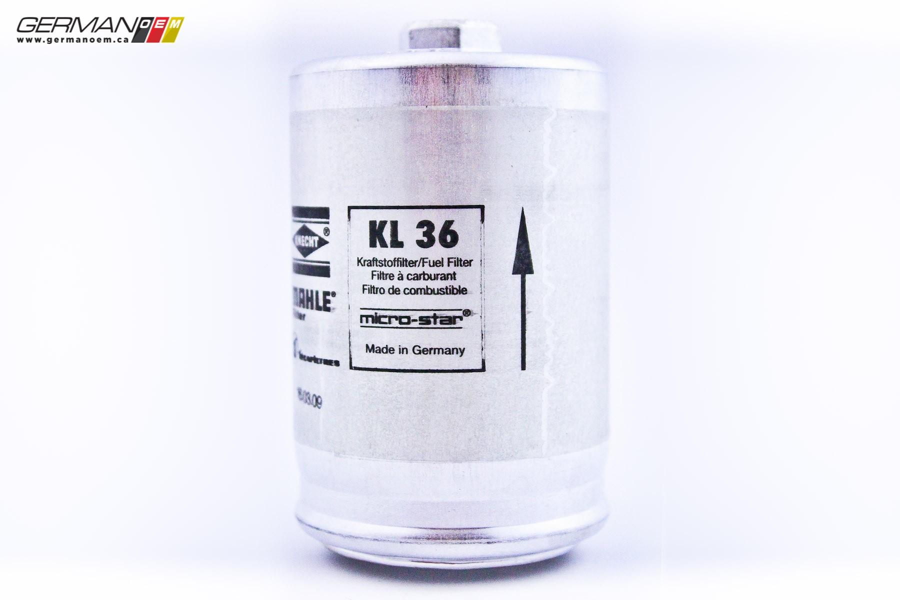 Fuel Filter Mahle 2001 Passat 441201511c