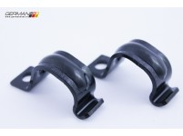 Front Sway Bar Bushing Clamp (Pair), Febi