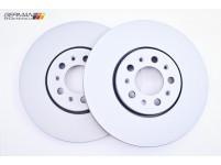 Front Brake Disc, 280x22mm, Zimmermann, 1J0615301P
