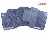 Rubber Mat Set (mk5 Jetta, Round), OEM
