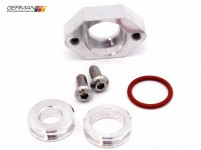 1.8T MAP Sensor Flange Kit (Aluminum, Flat), 42 Draft Designs