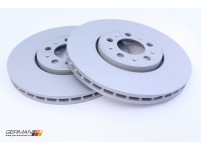 Front Brake Disc (288x25mm), Zimmermann (Pair)