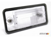 Licence Plate Light Lens (Left), OEM