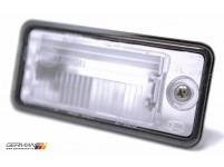 Licence Plate Light Lens (Right), OEM