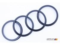 57.1-66.6mm Hub Ring, Novustech (Set of 4)