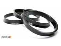 63.4-65.1mm Hub Ring, Novustech (Set of 4)